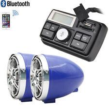 UTV ATV WAKEBOARD Waterproof Marine Speakers Bluetooth Audio System