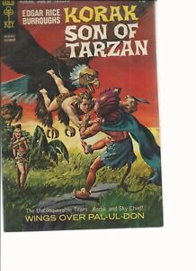 Korak Son of Tarzan (1964 Gold Key/DC)  #26 December  beautiful