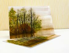 Moody Landscape Notecards, Pack of 5 Folded Fine Art Notecards with Envelopes