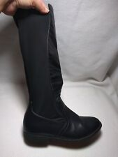 Pierre Dumas Size 7 And 1/2 M Black Skylar Riding Boots