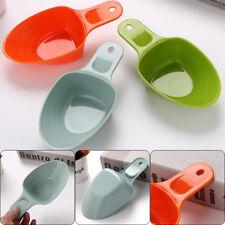 Pet Food Shovel Plastic Dog Puppy Scoop Small Spoon Feeder Tool Random Color