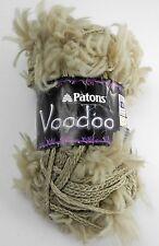 Patons Voodoo Acrylic/Nylon Yarn - 1 Skein - Color Suede #08010