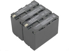 new 2pcs Battery and Dual Charger NP-F970 NP-F930 NPF950 For CCD-TR730E TR8000