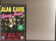 ALAN CARR SPEXY BEAST DVD STAND UP COMEDY