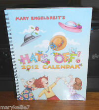 MARY ENGELBREIT 2012 DESK ENGAGEMENT CALENDAR HATS OFF