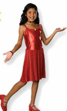 NWT DISNEY HSM Deluxe Gabriella Costume dress mic Girls 4-6 High School Musical