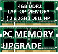 4gb = 2gb X 2 LAPTOP MEMORY RAM  DDR2 hp dell 5335 5515 5516 5517 ACER aspire