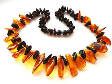 "women's necklace 18"", natural Baltic amber"