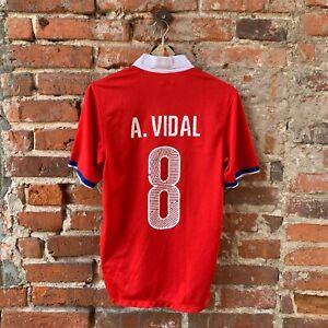 Nike Arturo Vidal Chile Football Soccer Jersey / Size: men's M