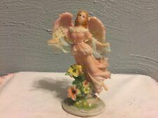 "Montefiori Collection Figurine Pink Angel 6"" High"