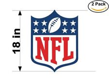 nfl logo National Football League 2 Stickers 18 Inches Sticker Decal
