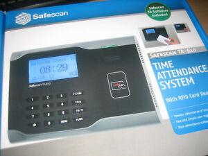 Safescan TA 810 Zeiterfassungssystem RFID mit Netzwerk