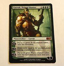 Magic the Gathering MTG Garruk Primal Hunter M12 Mythic MP