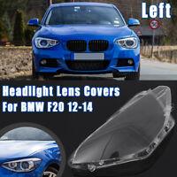 Left Car Headlight Glass Headlamp Lens Shell Clear Cover For BMW F20 2012-2014
