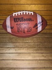 Vintage Nfl Official Wilson Football Pete Rozelle Commissioner Rare Stripes