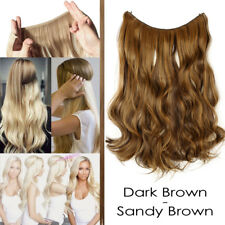 """20""""-24"""" Secret Headband Wire in Hair Extensions Invisible As Human Hairpiece TBX"""