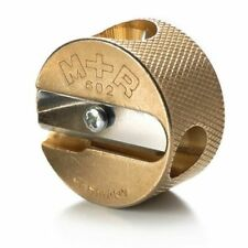 Mobius + Ruppert (M+R) Brass Artists Pencil Sharpener - Double Round - 602