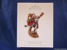 2008 Hallmark Keepsake Ornament Ringing in the Season A Santa Claus Christmas