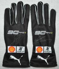 Sebastian Vettel & Charles Leclerc Signed 2019 Replica Gloves Pair with Proof