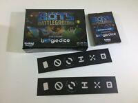 Boogie Dice Bots Battleground Kickstarter Card Set Tokens Sealed New DS66