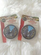 2 Pack Thrive Reptile Thermometer And Hygrometer Combo snakes crab frog turtle
