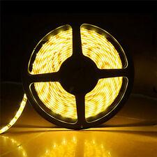 24V 5M Bright Warm White LED Strip Ribbon Tape Light Waterproof Under Cabinet
