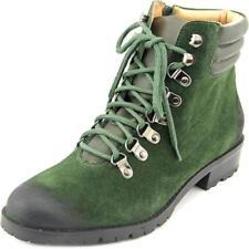 Botas de mujer de color principal verde de ante