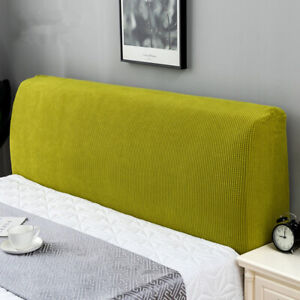 Elastic Bed Head Cover Stretch Protector Cover Headboard Slipcover Dustproof