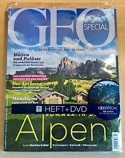 GEO SPECIAL 3/2016 SOMMER IN DEN ALPEN Heft + DVD Neu