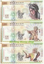 Full set of CHINA Peking Opera Specimen Banknote/Paper Money/ UNC (3 Pcs)
