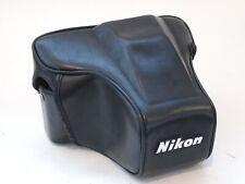 Nikon CF-35 leather case for f501 cameras. U7601