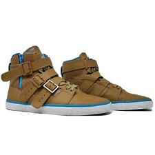 Radii Straight Jacket Mens High Tops Shoes Tan Blue Size 12 FM1037