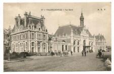 Valenciennes (59) La Gare. écrite au dos.