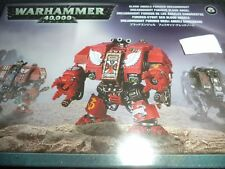 Blood Angels Furioso Dreadnought Warhammer 40k 40,000 Games Workshop Model New!
