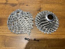 Sram Red XG 1190 11-28t 11 Speed Cassette & KMC X11EL Chain with Quick Link