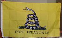 GADSDEN TEA PARTY DONT TREAD ON ME  FLAG 3 x 5 '  FLAG -  NEW 3X5 INDOOR OUTDOOR