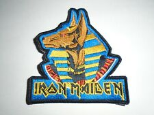 IRON MAIDEN WORLD SLAVERY TOUR EMBROIDERED PATCH