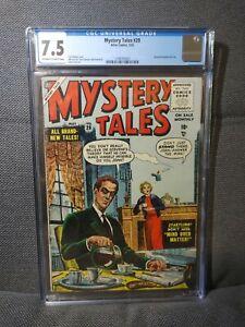 Mystery Tales 29 | 5/55 | Pre-Code Horror. Bill Everett art | CGC 7.5