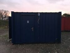 12ft x 8ft Anti Vandal Toilet block container secure mens and ladies 2 by 2