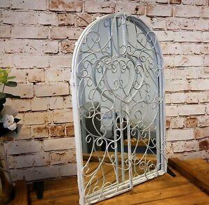 Gothic Rustic Arch Garden Mirror Indoor Outdoor Vintage Romantic Glass Window