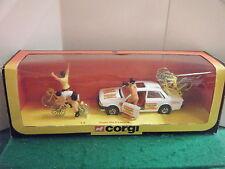 """CORGI n °: 13 """"TOUR DE FRANCE PEUGEOT 505 ensemble cadeau"""" - (original 1981)"""