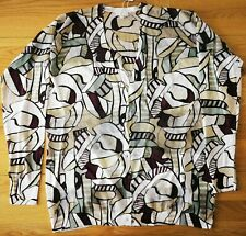 Escada V Neck Fantasy Breathable Cardigan In Size S RRP £175
