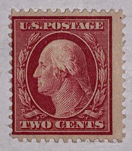 Travelstamps: US Stamps Scott #375 2c George Washington Mint OG LH