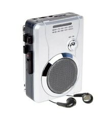 More details for class portable walkman cassette radio player recorder with built in speaker