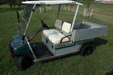 2001 Club Car Carryall Kawasaki Gas Engine Utility Golf Cart Dump Bed 548 hours