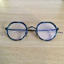 Authentic Thom Browne TBX911-45-02 Matte Navy & Black Glasses - £580