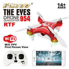 FQ777-954 WIFI FPV 0.3MP Camera Mini Nano RC Quadcopter RTF Phone Control UFO