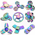 Metal Rainbow Hand Finger Spinner EDC Fidget Stress Relief Focus Toy Kids/Adult