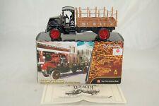 ERTL Texaco Chrome 1918 Mack AC Bulldog Flatbed Truck Die Cast Bank 1:32 #20432P