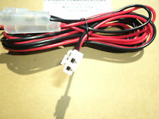 Fused DC Power Cable Kenwood TK863, TK880, TK8180, NX800, NX820, TKRxxx, TKxxxx